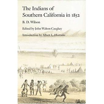 Os índios do Sul da Califórnia em 1852