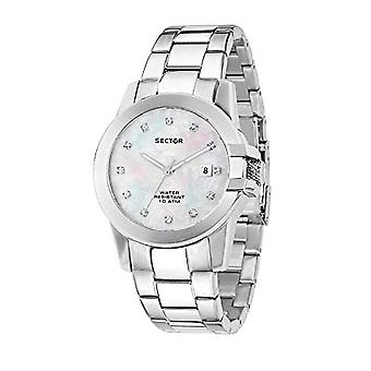 Sector watch Analog quartz ladies with stainless steel strap R3253597501