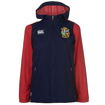 Canterbury mujeres leones británicos e irlandeses completo Zip chaqueta las señoras de la lluvia