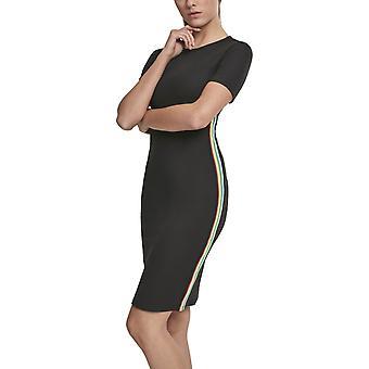 Urban classics ladies - Side Taped Stretch dress black