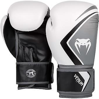 فينوم كونتيندر 2.0 قفازات الملاكمة التدريب - أبيض / رمادي / أسود