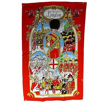 Union Jack Wear Pomp And Ceremony Of London Tea Towel
