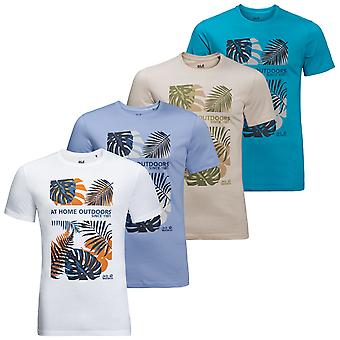 Jack Wolfskin Mens Palm Cove T Lightweight Soft Fabric T-shirt