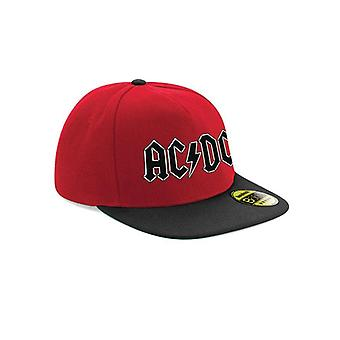 AC/DC Unisex Adults Logo Snapback Cap