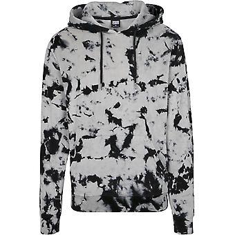 Urban Classics mäns Hooded tröja Velvet tie dye