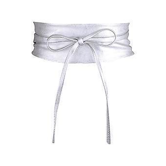 KRISP Womens zachte PU faux leder zelf stropdas wikkel rond Obi taille band cinch Boho gordel