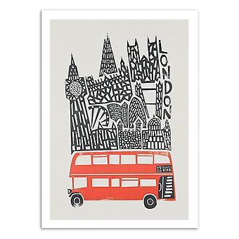 Art-Poster - Lontoo - Kettu ja sametti