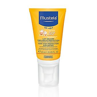 Mustela Very High Protection Sun Lotion for Face SPF50+ 40ml