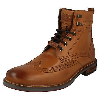 Mens Bugatti Brogue Style Boots 37737