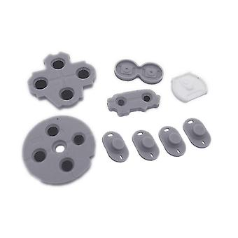 Conductive rubber pad button contacts kit for nintendo wii u gamepad