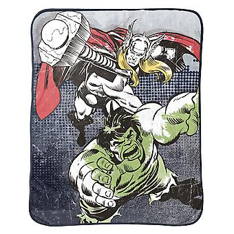 Thor og Hulk Throw