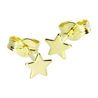 InCollections - Children's lobe earrings - 8-carat yellow gold