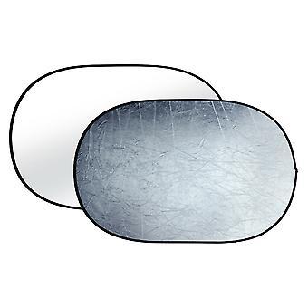 BRESSER BR-TR8 Faltreflektor silber/weiß 120x180cm