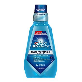 Crest pro-health multi-protection oral rinse, clean mint, 16.9 oz