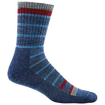 Darn Tough Blue mens via Feratta Micro Sock