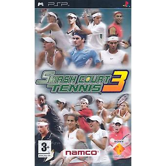 Smash Court Tennis 3 (PSP)-fabriek verzegeld