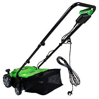 Charles Bentley 1500W 2 in 1 Electric Garden Scarifier & Aerator Lawn Raker