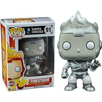 DC Firestorm White LanternUS Exclusive Pop! vinile m