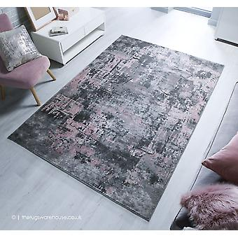 Tapis rose gris Wonderlust