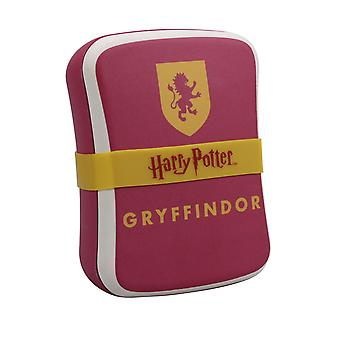 Harry Potter bread tin Gryffindor red/yellow/white, printed, with silicone tape, 100% bamboo fiber.
