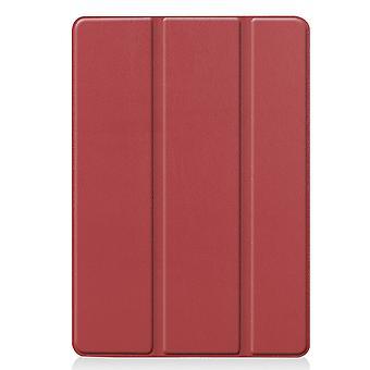 Apple iPad 10.2 2021/2020/2019 Coque triple coupe slim - Bourgogne