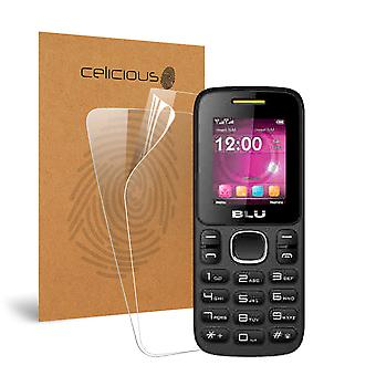 Celicious Vivid Invisible Glossy HD Screen Protector Film Compatible with BLU Zoey [Pack of 2]