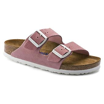 Birkenstock Arizona Suede Sandal SF 1012830 Rose NARROW