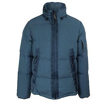 Cp company 50 fili men's denim down jacket