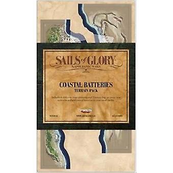 Sails of Glory expansion: kustnära batterier och terräng Pack