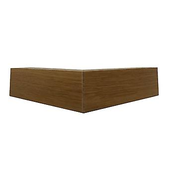 Öljyltään puinen kulmajalka 4 cm (1 kpl)