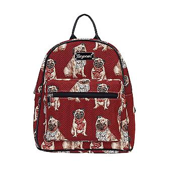Pug casual day pack by signare tapestry / dapk-pug