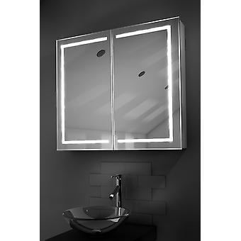 Deetra LED kylpyhuoneen kaappi huurteenpoistolaitetta Pad, anturi & parranajokone k368