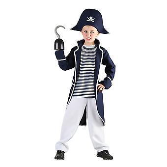 Bristol Novelty Childrens/Kids Pirate Captain Costume