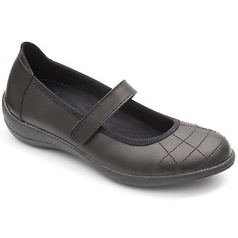 Padders Robyn Womens Riptape Mary Jane Shoe