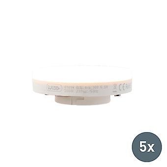 QAZQA sarja 5 GX53 LED-lamppu 5.5 W 470LM 3000K