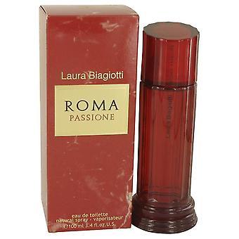 Roma Passione Eau De Toilette Spray By Laura Biagiotti   535261 100 ml