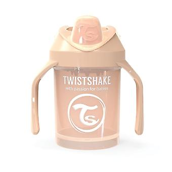 TwistShake Mini Cup 230ml Pastel Beige