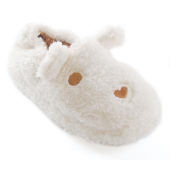 Meisjes SlumberzzZ Teddy beer slipper met elastische hiel FT0596