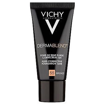 Vichy Dermablend Fluid Corrective Foundation 30ml-55 Bronze