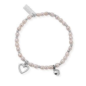 ChloBo SBFOREVER18 Pearl Forever kärlek armband