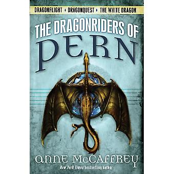 The Dragonriders of Pern  Dragonflight Dragonquest the White Dragon by Anne McCaffrey