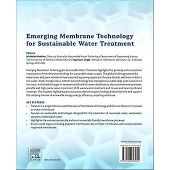 Emerging Membrane Technology for Sustainable Water Treatment by Singh & Rajindar