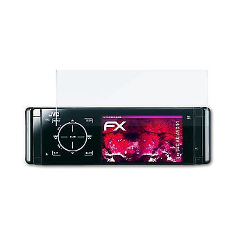 atFoliX Glass Protector compatibel met JVC KD-AVX44 Glas beschermfolie 9H Hybrid-Glass