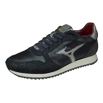 Mizuno Saiph 3 Mens Leather Trainers / Shoes - Grey