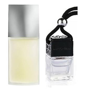 Issey Miyake For Him Inspired Fragrance 8ml Black Lid Bottle Hanging Car Vehicle Auto Air Freshener