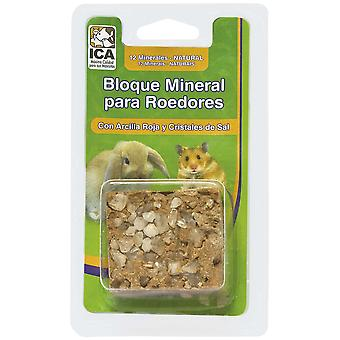 Ica Rodent Clay and Salt Blocks (Small pets , Food Supplements)