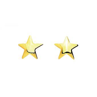 Earrings Stars Gold 375/1000 yellow (9K)