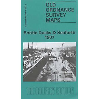 Bootle Docks och Seaforth 1907 Lancashire Sheet 99,13 av Mike Greatbatch