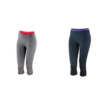 Spiro Womens/damer Fitness capribyxor/bottnar