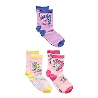 Mein kleines Pony Socken 3-Pack, lila/hellrosa